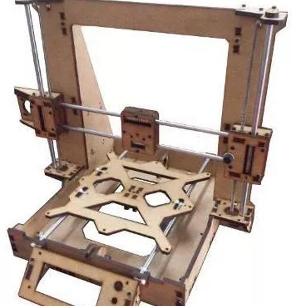 frame impressora 3d graber i3 em mdf 6mm