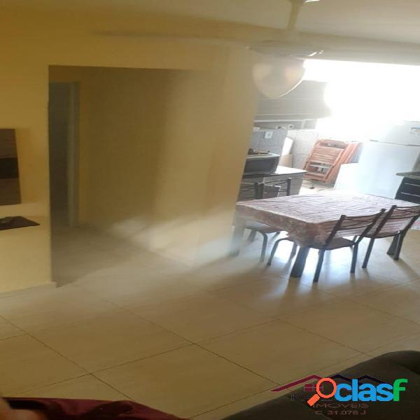 Apartamento 2 dormitórios mobiliado na Pompeia em Santos