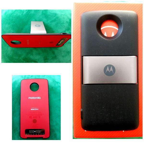 Bateria externa (na caixa com manual) - Moto Snap Moto Power