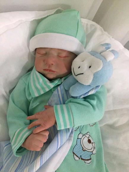 Bebê reborn jaiden/ masc