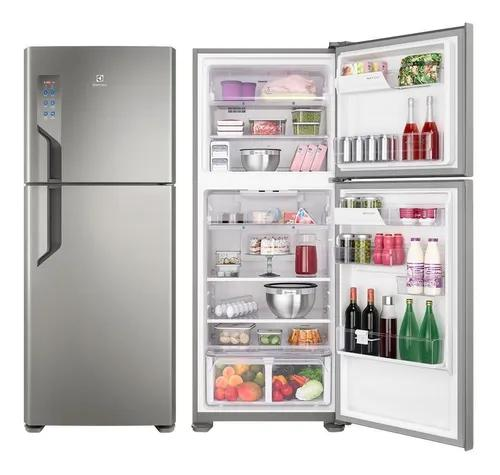 Geladeira Electrolux 2 Portas Frost Free 431l Platinum Tf55s