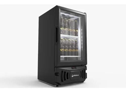 Mini Cervejeira Imbera 109l Porta De Vidro Ccv72 Preta 110v