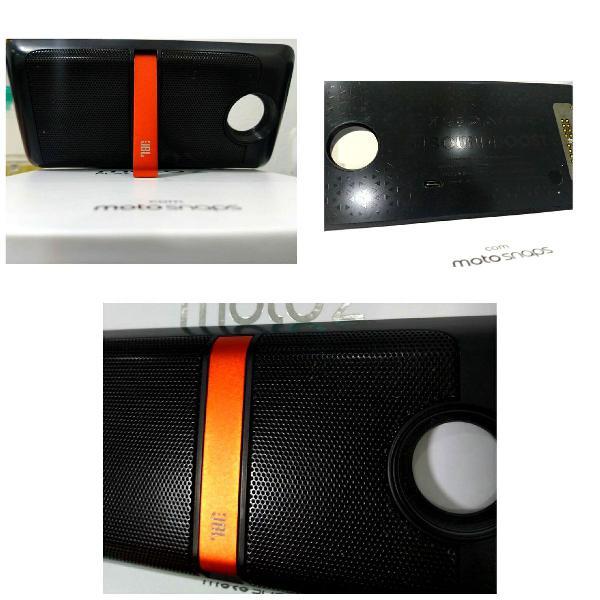 caixa JBL Motorola - Moto Snap JBL Soundboost Speaker