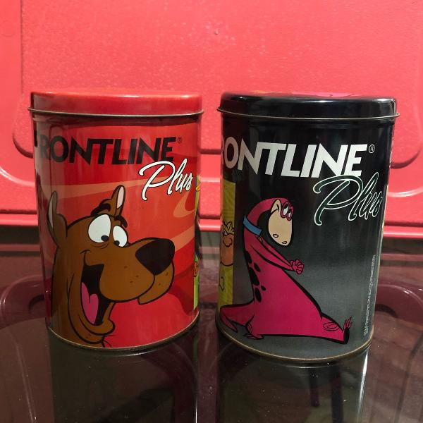latas antigas frontline plus
