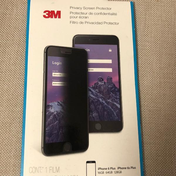película de privacidade 3 m para iphone 6 plus e 6 s plus
