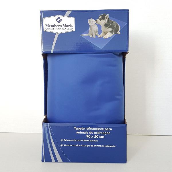 tapete refrescante para pets grande - 90x50cm