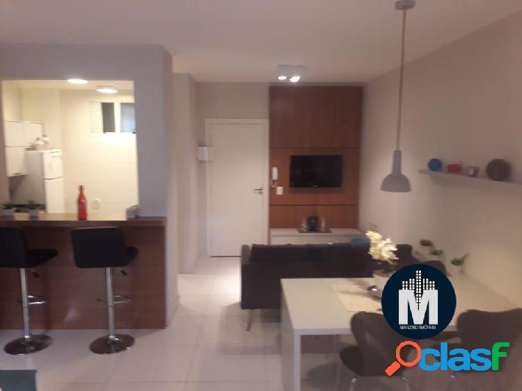 Apartamento decorado e mobiliado, Studio 1 Dorm, Suíte,