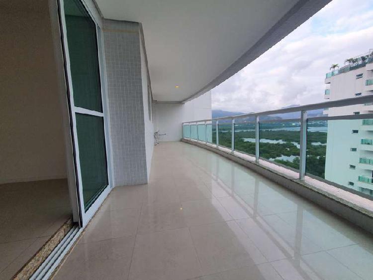Apartamento na Barra da Tijuca Peninsula 2 quartos