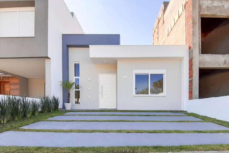 Casa de condomínio para venda com 95 metros quadrados com 3