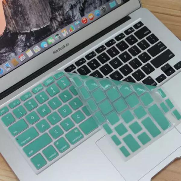 Protetor de teclado em silicone para macbook