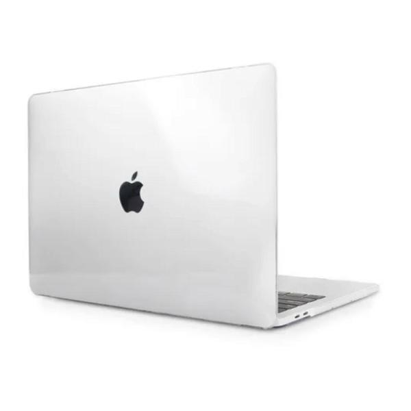 capa para macbook new air 13 cristal transparente hard case
