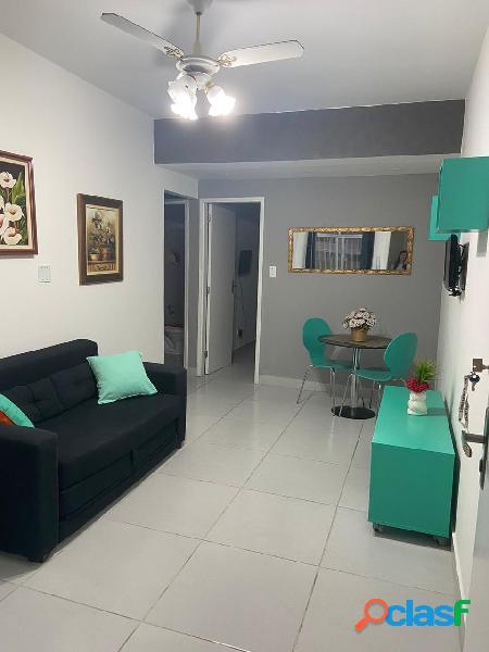 Apartamento 1 quarto, mobiliado,48 m2, 1 vaga, Gonzaga,