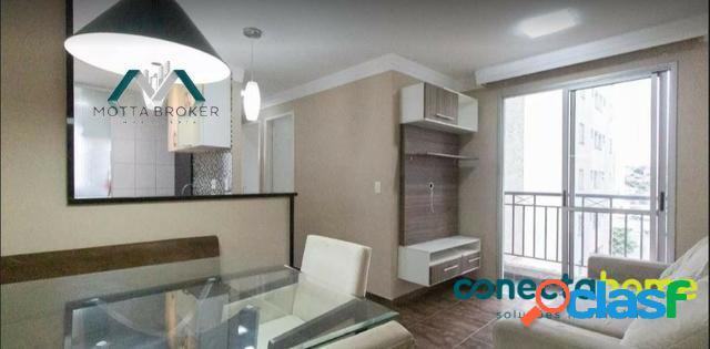 Apartamento 2 dormitórios, totalmente mobiliado - 16043