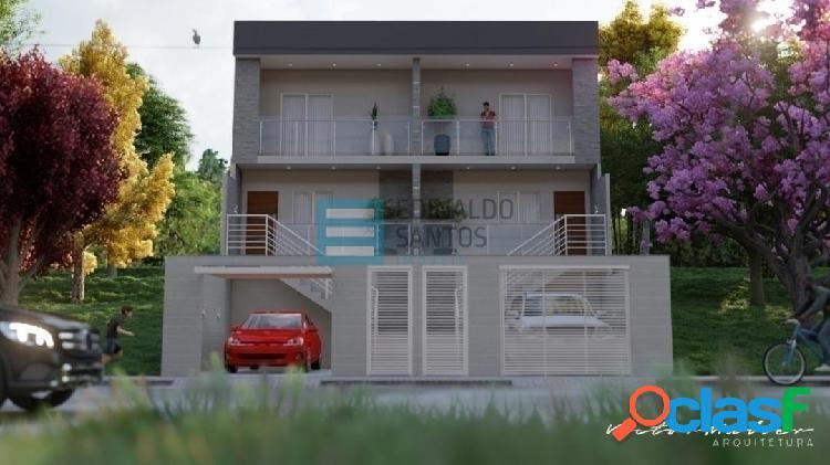 Casa duplex 2/4 e vagas de garagem no Jardim Sta Isabel em