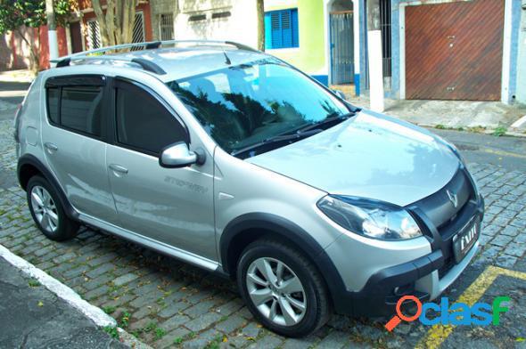 RENAULT SANDERO STEPWAY FLEX 1.6 AUTOM. PRATA 2012 1.6 FLEX