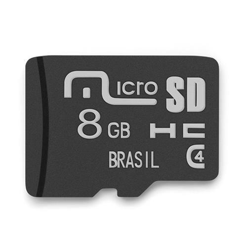 Cart\u00e3o de Mem\u00f3ria Classe 4 8GB Mirage - MC140