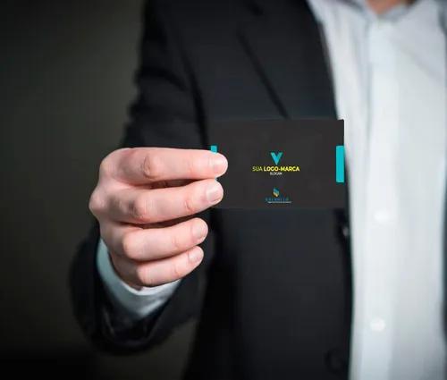 Criação De Cartão De Visita E Logo-marca