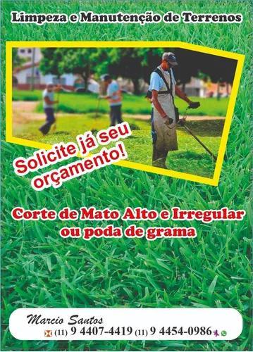 Limpeza De Terrenos E Manutenção De Jardins