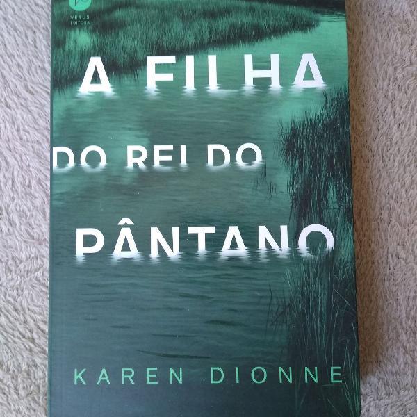 Livro 'A filha do rei do pântano'