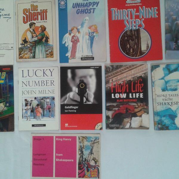 Lote com 11 livros de Literatura Infanto Juvenil em Inglês