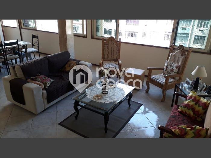 Tijuca, 3 quartos, 1 vaga, 122 m² Rua Conde de Bonfim,