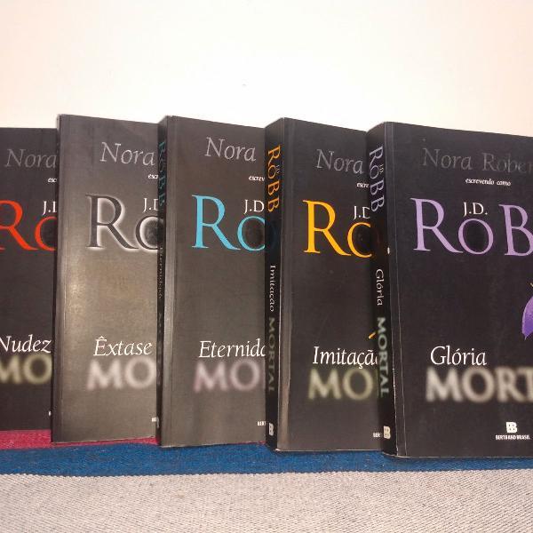 box 5 livros série mortal - nora roberts