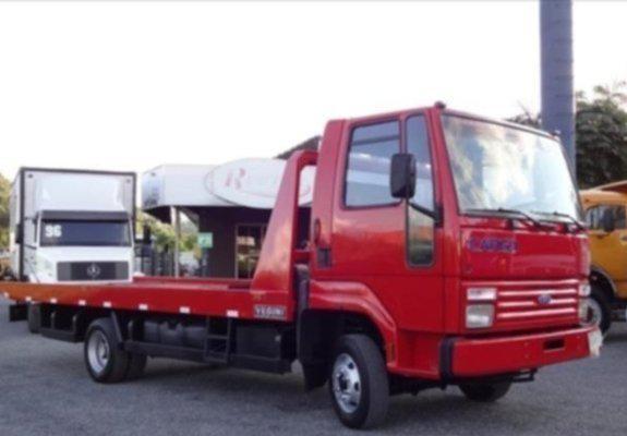 caminhão ford cargo 814 ano 1999 turbo