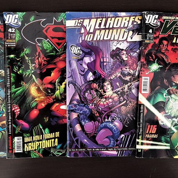 coleçao hqs dc comics batman lanterna verde
