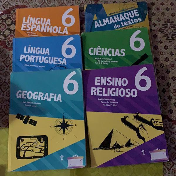 combo de livros - adventista 5 ano