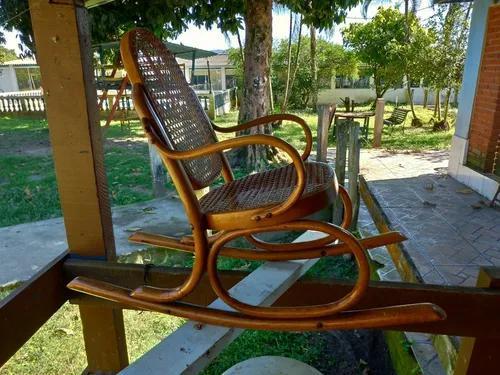 Cadeira De Balanço Thonet Criança Antigo #10468