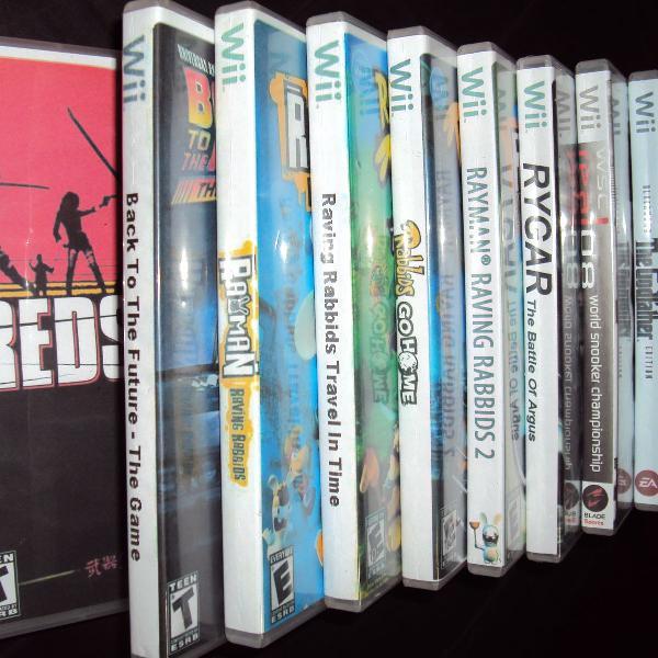 Nintendo Wii 10 Jogos Para wii Desbloqueado