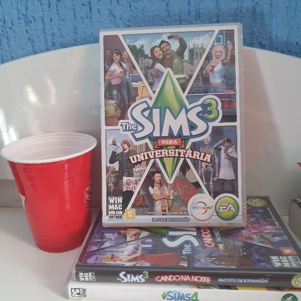Sims sem preguiça: The Sims 3 Vida Universitária