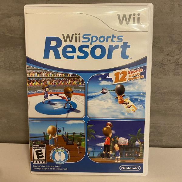 jogo wii sports resort para wii