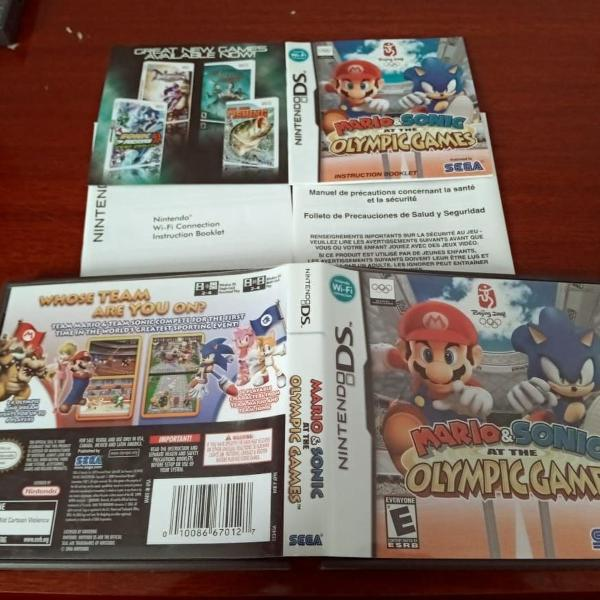 mario & sonic at the olympic games nintendo ds b1##n