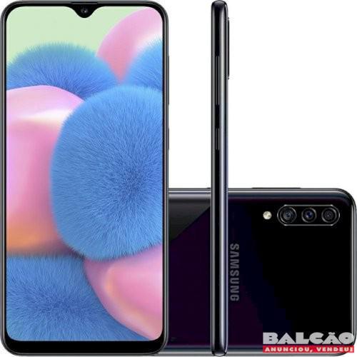 Celular Samsung Galaxy A30S 64GB + Cartão de Memoria 64 GB