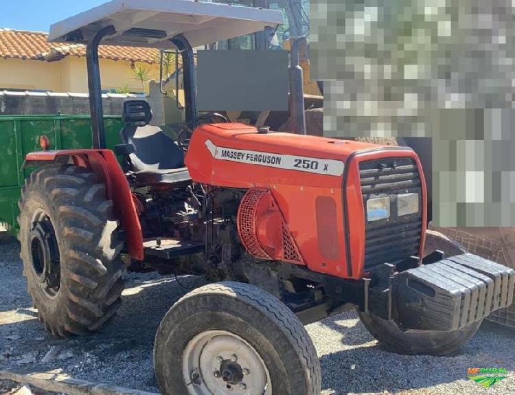 Trator Massey Ferguson 250 X 4x2 ano 08