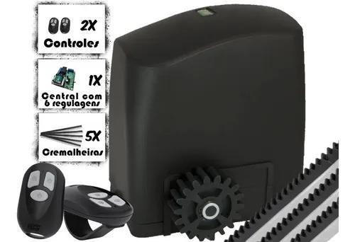 Kit Motor Portão Deslizante/correr Rcg 1/4cv 450kg 127/220