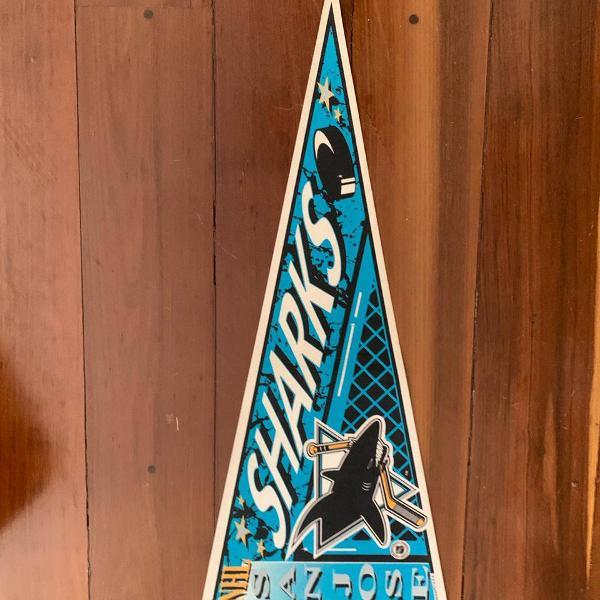 flâmula retro San Jose Sharks - original