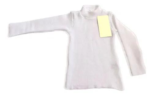 3 Blusas Básicas Cacharrel Infantil Lã Inverno Criança