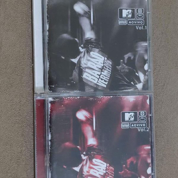 Barão Vermelho - MTV ao vivo- vol. 1 e 2