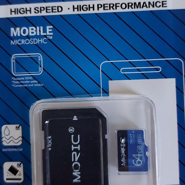 Cartão de Memória Micro SD 64 GB