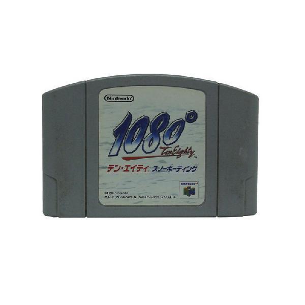 Jogo 1080: TenEighty Snowboarding - N64 (Japonês)