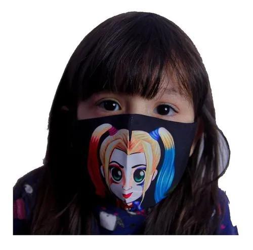 Mascara Para Criança Personalizada Proteção Dupla Face