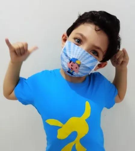 Máscara De Proteção Infantil - Reutilizável (10und)