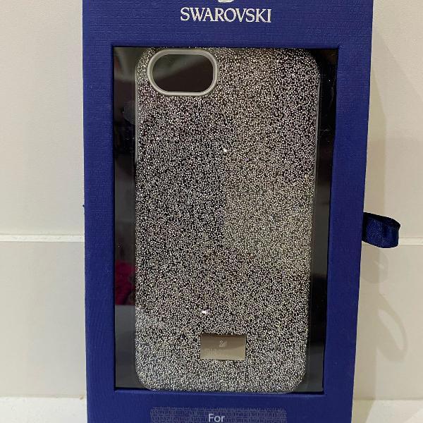 capinha iphone 6/6s/7/8 swarovski