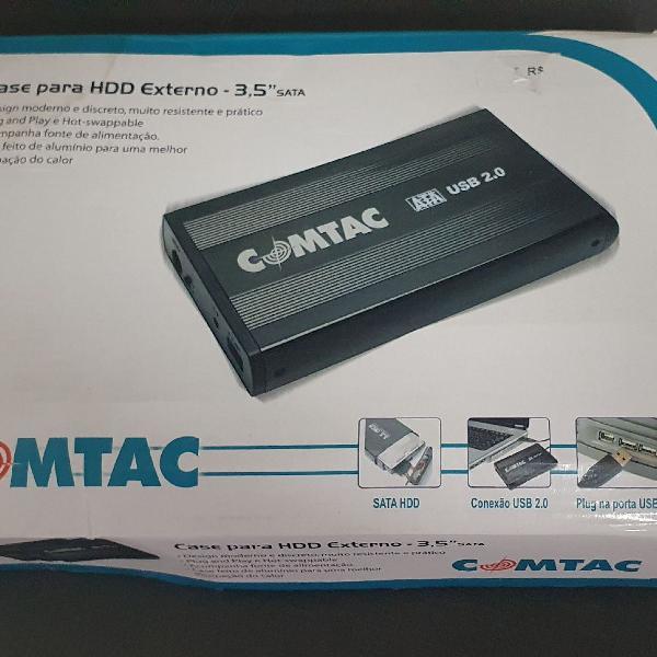 case comtac para HD externo com HD Samsung 250gb