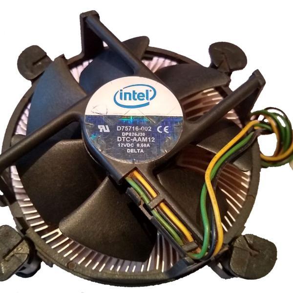 Cooler Intel original para processador