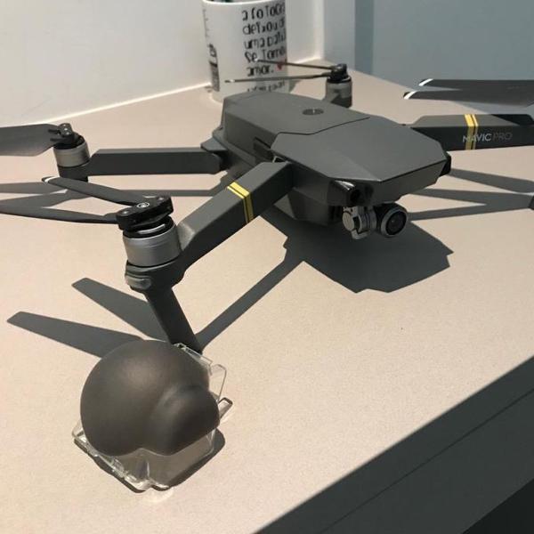 drone dji mavic pro com combo fly more e case rígida