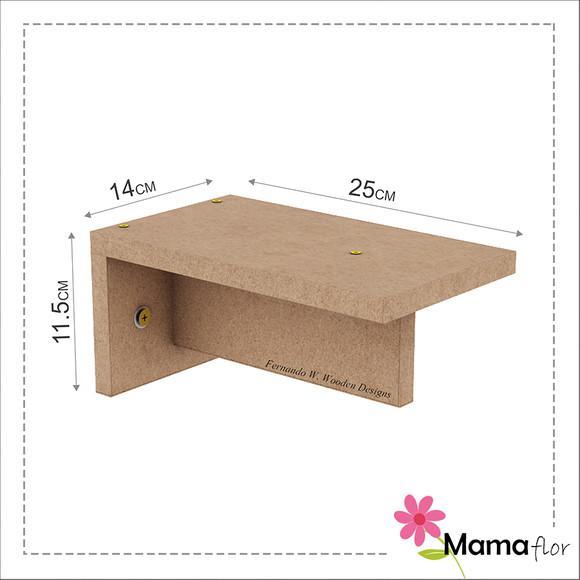 2x Steps Escada Para Gatos Em Mdf - Mama Flor Design