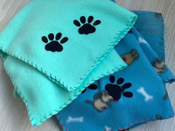 Cobertor para Pets (tam. P) 35 cm x 50 cm